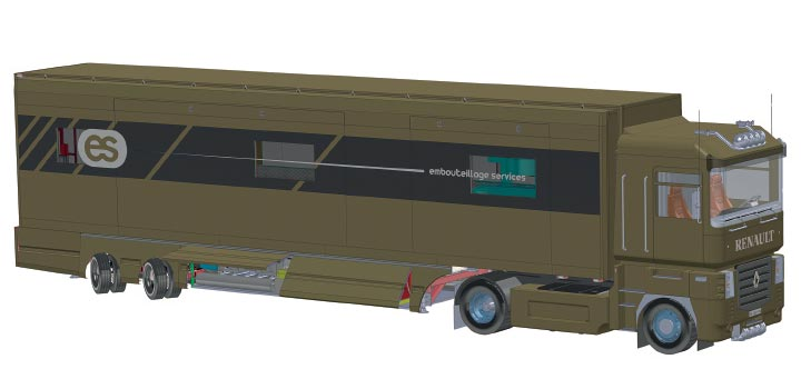 Chaine d'embouteillage mobile ES X