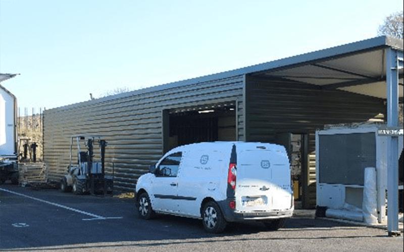 ES s'agrandit et crée un nouvel Atelier de maintenance pour ses unités mobiles
